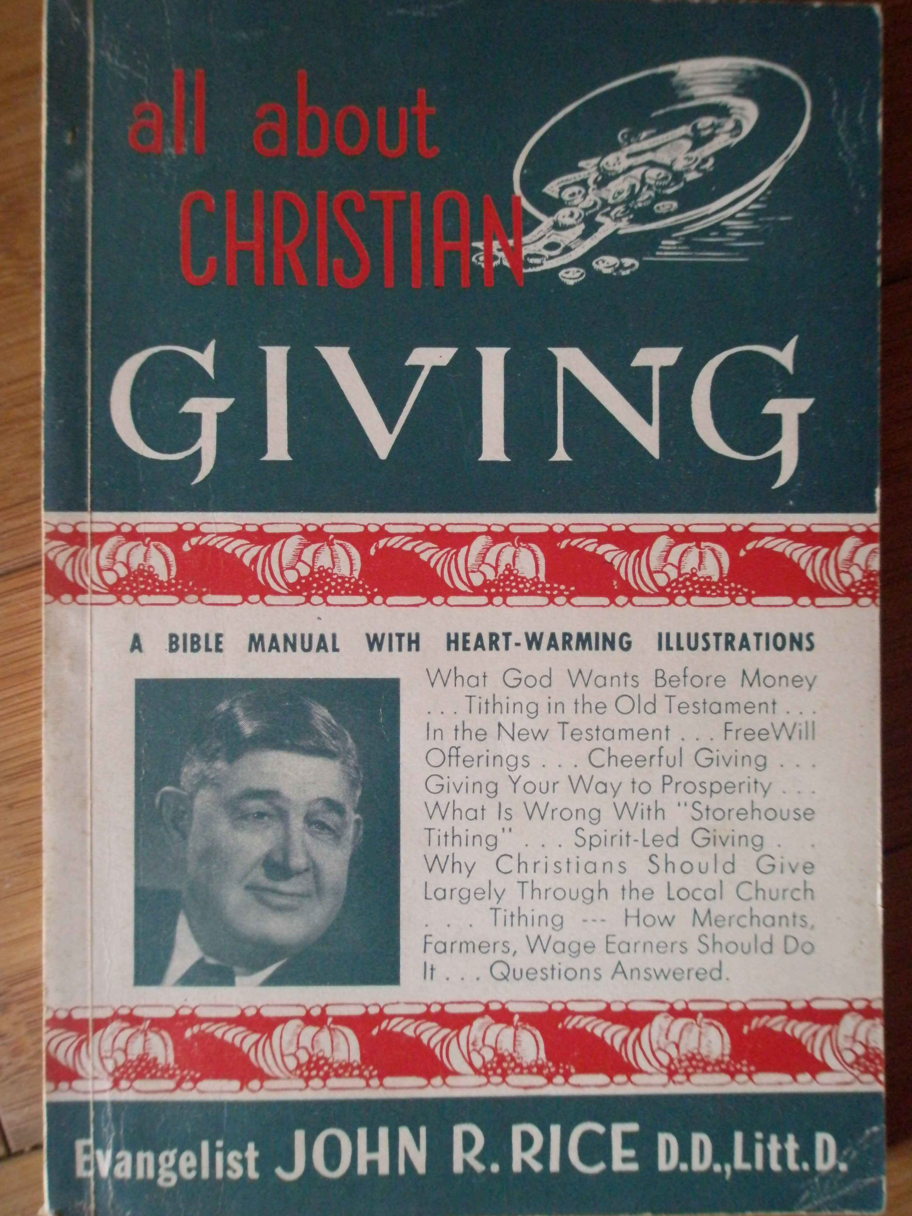 ALL ABOUT CHRISTIAN GIVING                                                                ...
